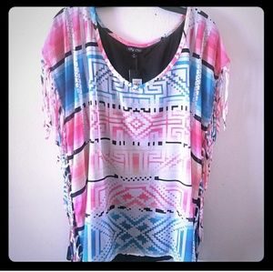 City Chic Festival Top size xs 16 NWT